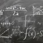 黒板の数式