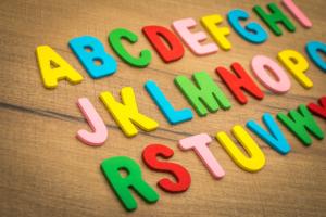 アルファベットの列