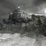 ドラゴンと城
