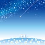 流れ星と猫