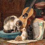 アンリエットの絵画「音楽家」